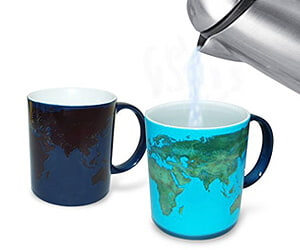 Day-Night Heat Sensitive Astronomy Mug