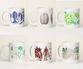 Cognitive Surplus Science Mugs