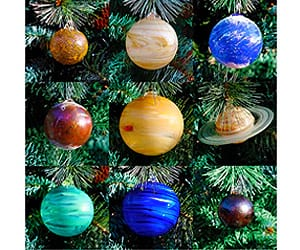 solar system christmas ornaments gift