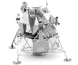 Metal Apollo Lunar Module
