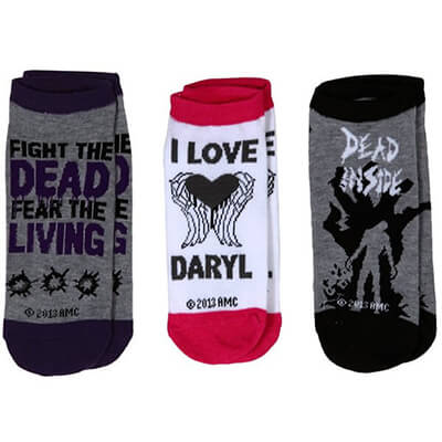 Dead Inside Sock 3 Pack