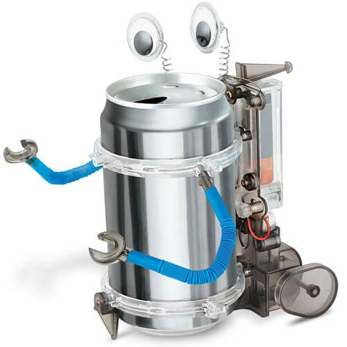 4M Classic Tin Can Robot Kit for Children
