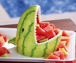 Watermelon Shark Bowl