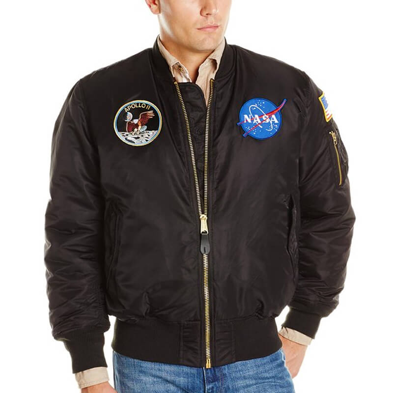 Alpha Industries MA-1 NASA Bomber Jacket Apollo 2 Program