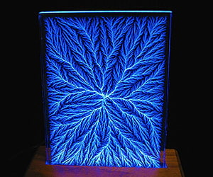 Lichtenberg Light Sculpture