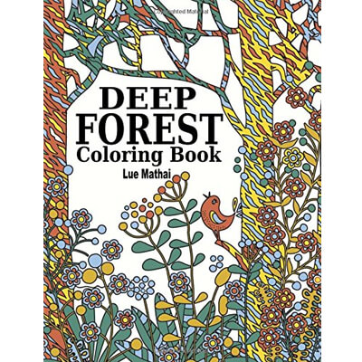Deep Forest Coloring Book