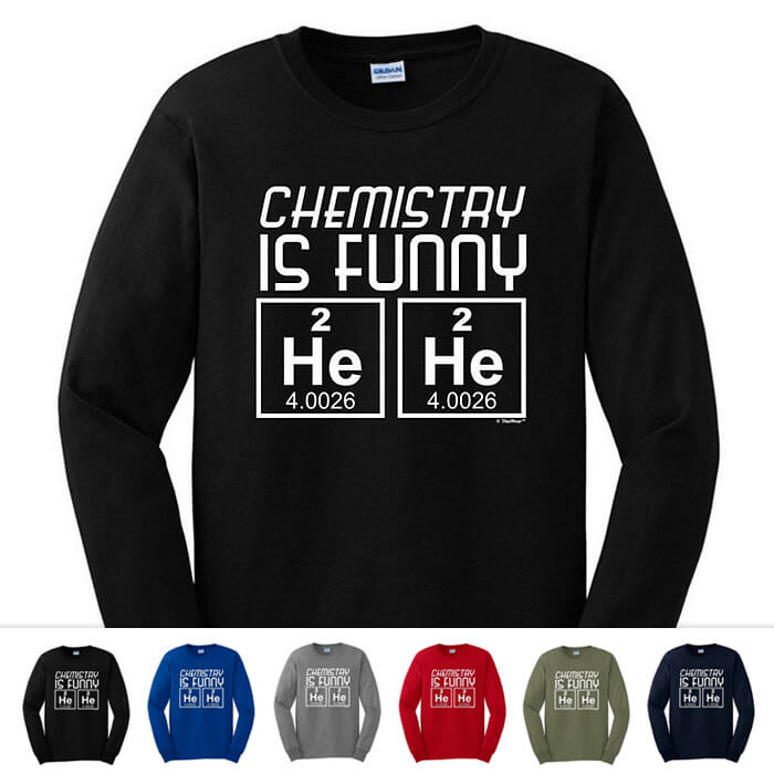 47bc487f Funny Science and Math Shirts - Geeky and Nerdy T Shirts