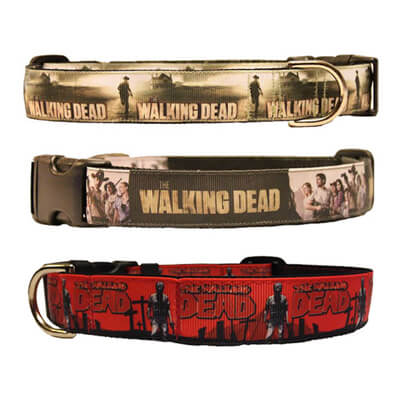 Walking Dead Dog Collar