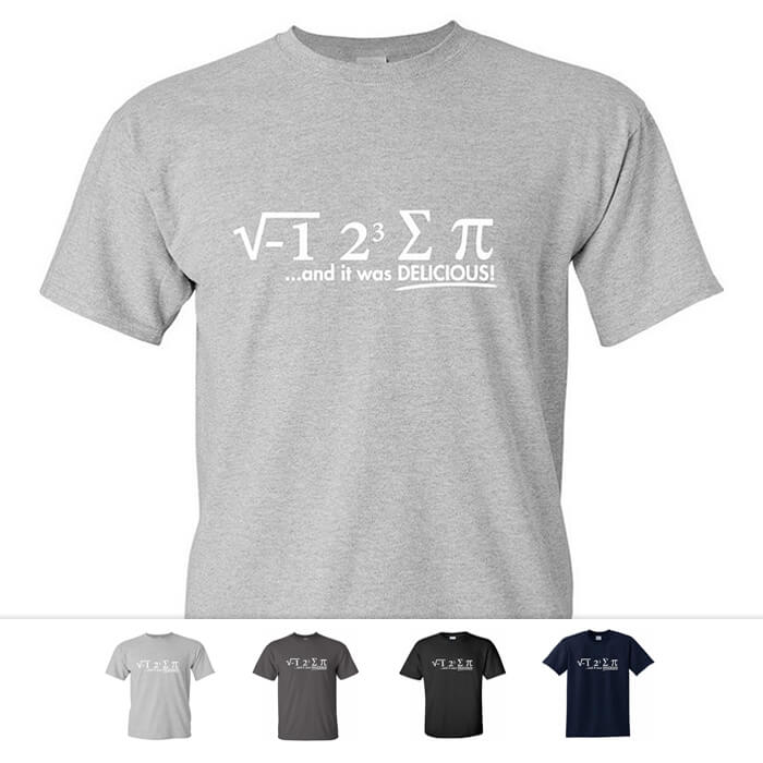 'I Ate Some Pi' Math Shirt