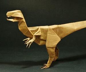 Dinosaur Origami Book