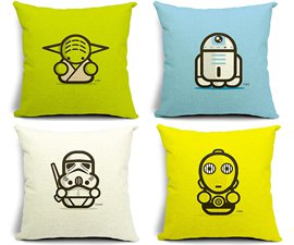 Cute Star Wars Pillows