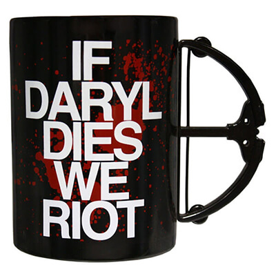If Daryl Dies We Riot TWD Mug
