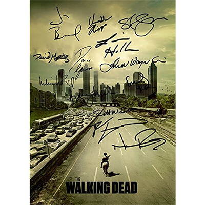 TWD Cast Autographs