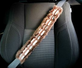 Chewbacca Seat Belt Cover