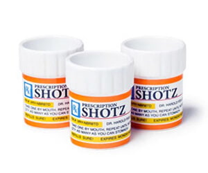 Medicine Pharmacy Prescription Shot Glass Set