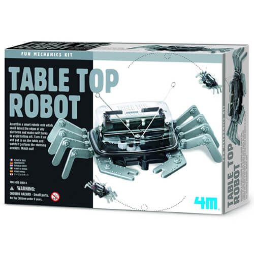 4M Fun Mechanics Table Top Robot Crab
