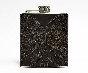 astronomy drinking flask