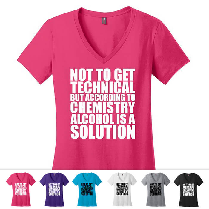 Alcohol Chemistry Shirt