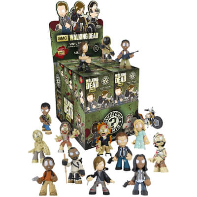 Walking Dead Mystery Mini Figures