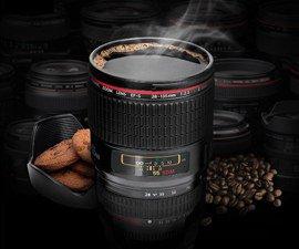 Realistic Camera Lens Cup
