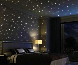 Glowing Wall Stars