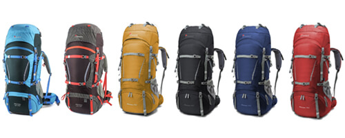 Mountaintop 70+10 Survival Backpack