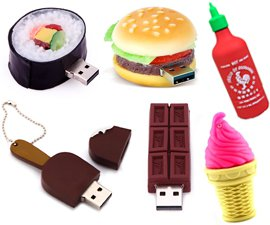 Food USB Flash Drives