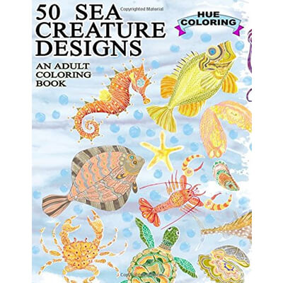 50 Sea Creature Designs