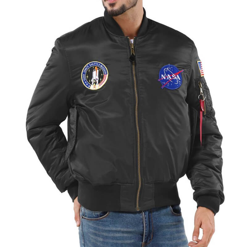 100th Shuttle Mission NASA Bomber Jacket