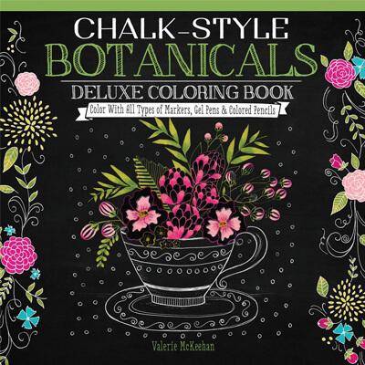 Chalk-Style Botanicals