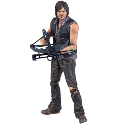 Daryl Dixon Crossbow Figure