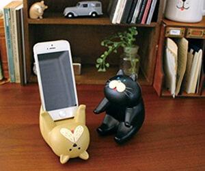 Passive Cat Smartphone Stand