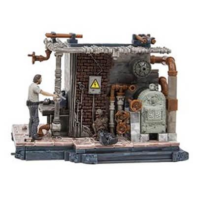 Prison Boiler Room Set