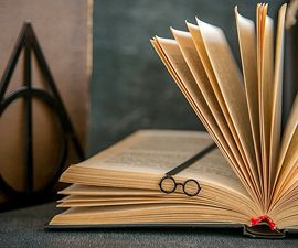 Harry Potter Glasses Bookmark