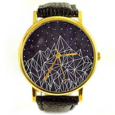Geometric Stars Watch