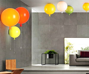 Gift for New Homes Modern Ballon Wall Sconce Light