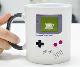 Heat-Reactive Game Boy Mug