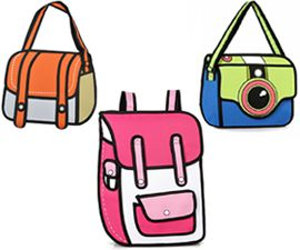 3D Cartoon Bag