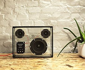 Transparent Speaker Unique Geek Present