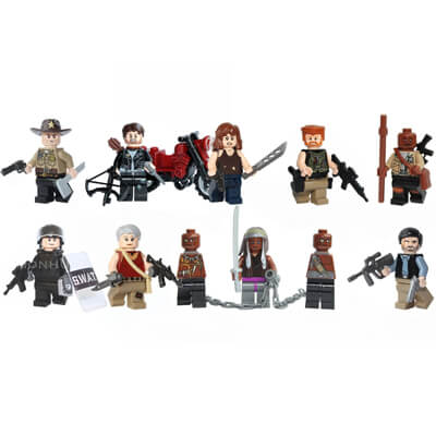 Walking Dead LEGO Figures