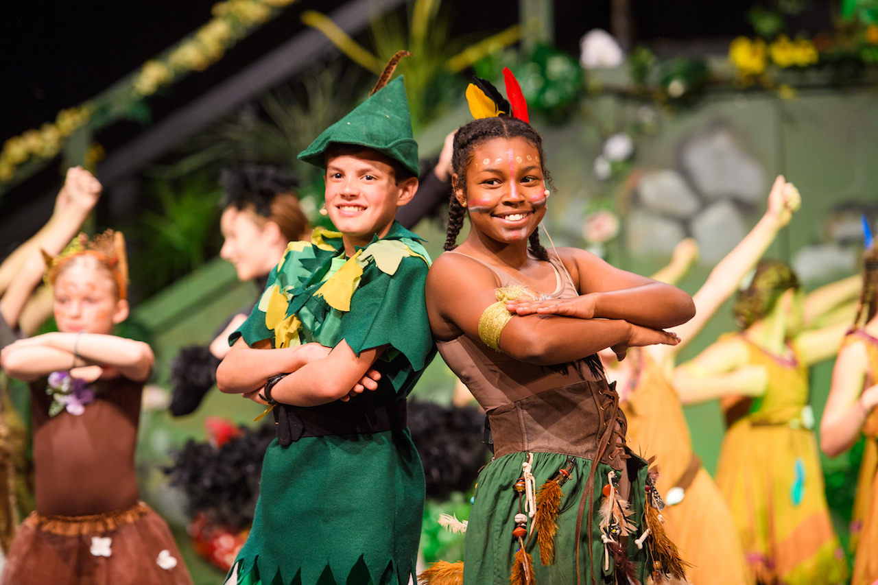 Dunham Peter Pan cast image