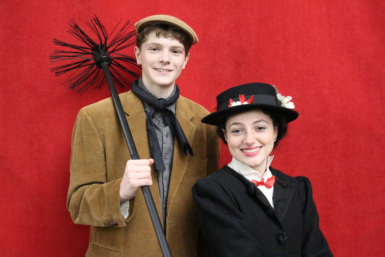 Dunham Mary Poppins Cast image