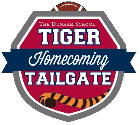 Dunham Homecoming Tiger Tailgate logo