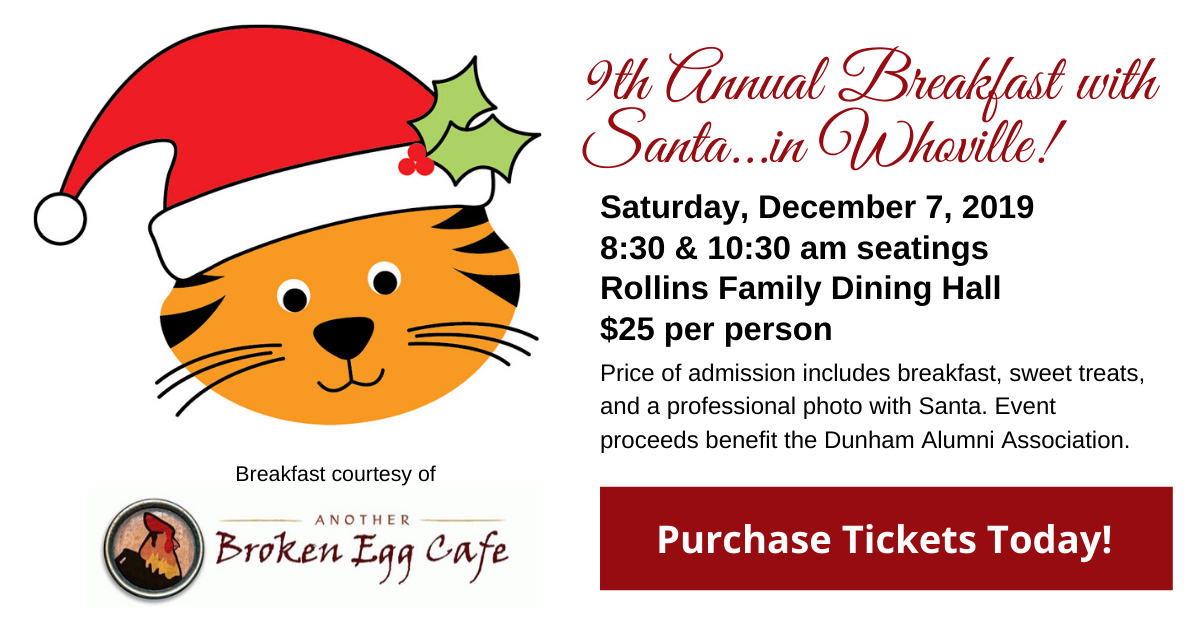 Breakfast with Santa image and ticket link
