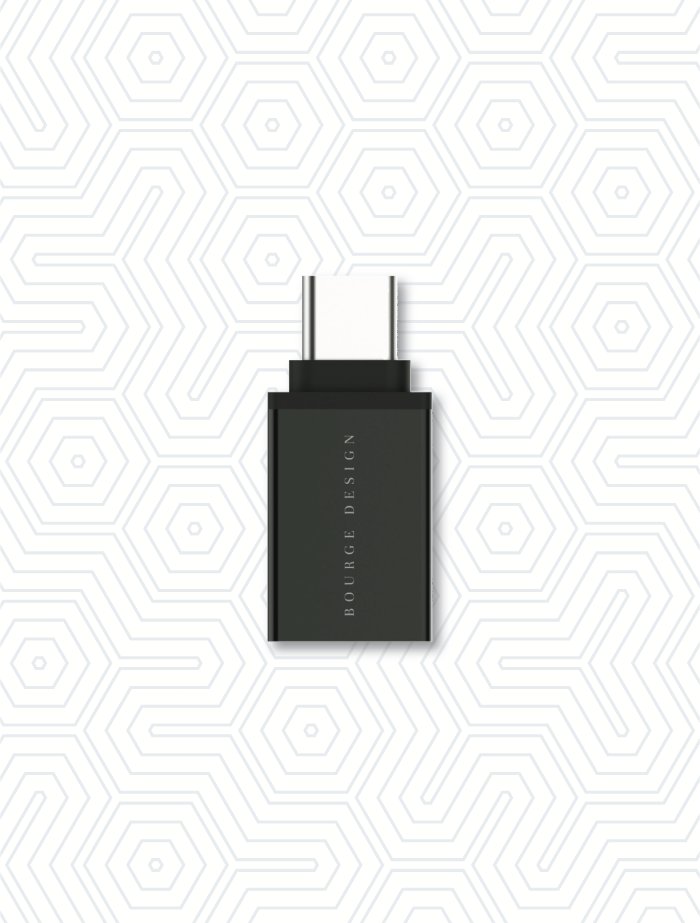 Photo of Mini USB-C to USB 3.0 Adapter for Mac and Windows devices