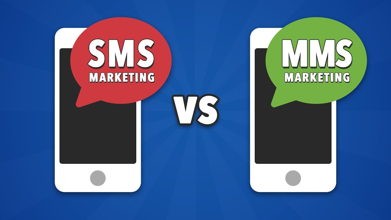 The difference between MMS and SMS text message marketing