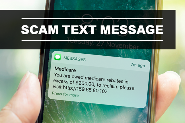 Medicare Text Message Scam