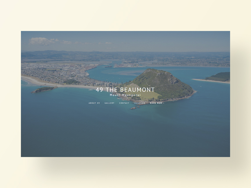 The Beaumonts new website designed and developed by Neon Hive
