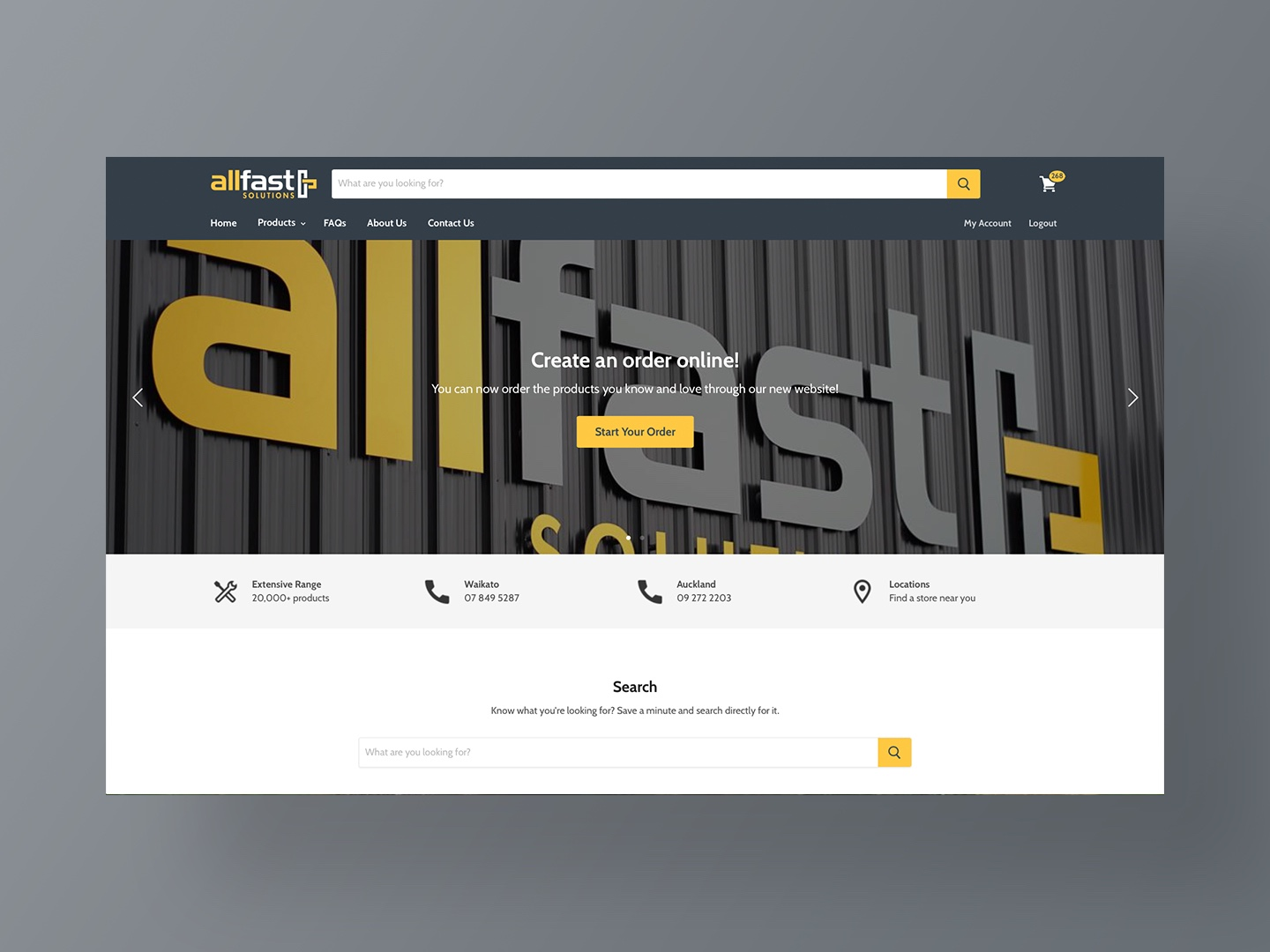 Allfast Solutions New Website by Neon Hive