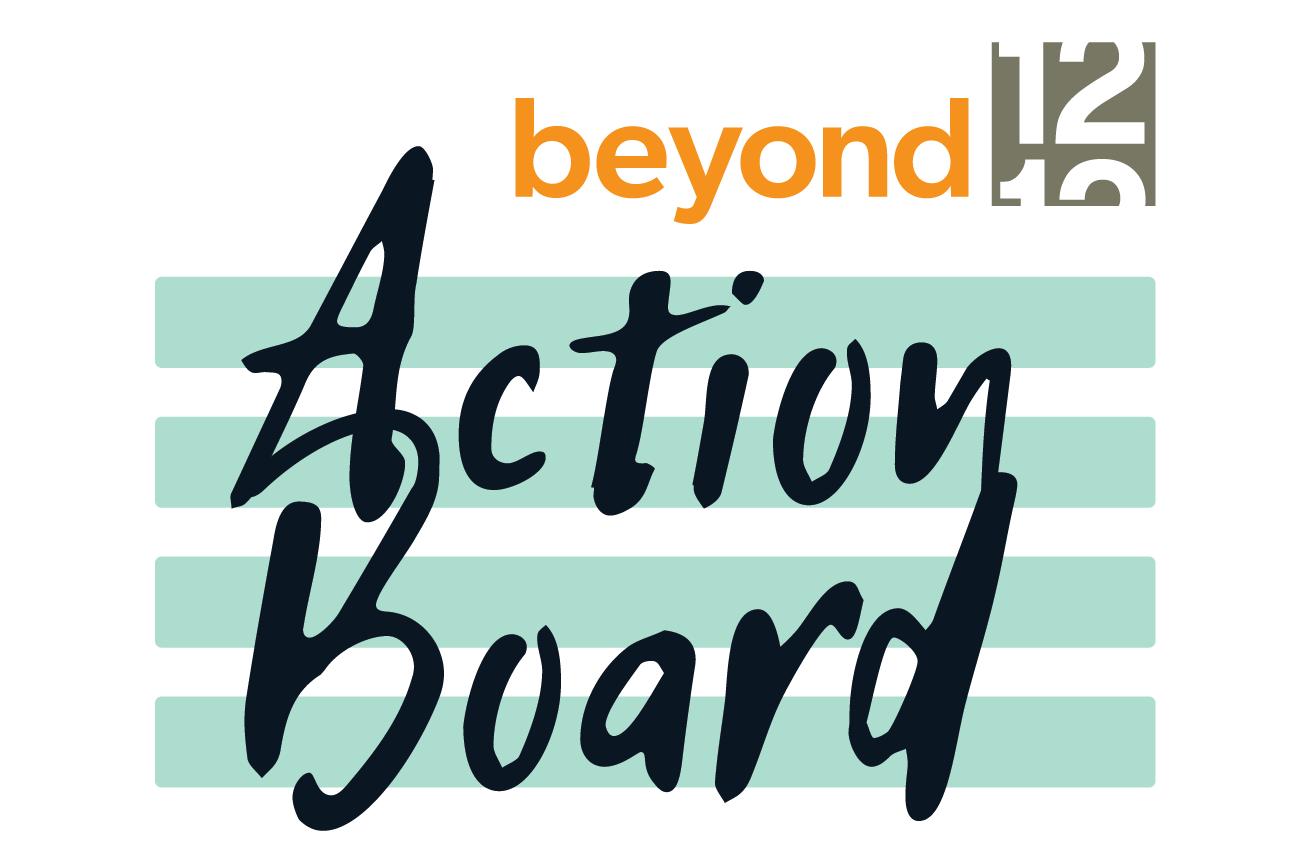 Beyond 12 Action Board Logo